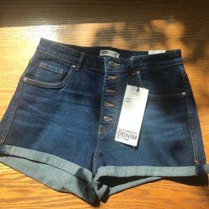 Zara Trafaluc NWT Jean Shorts